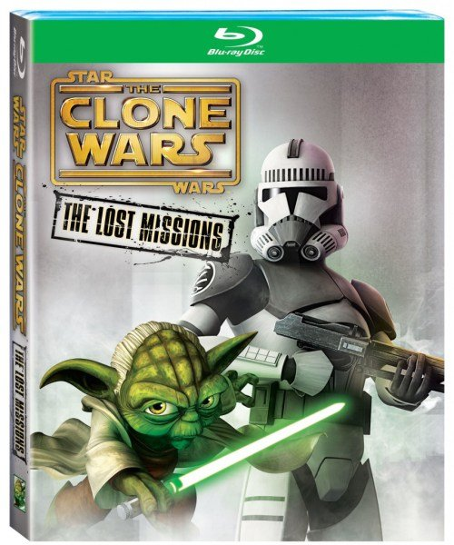 Star Wars The Clone Wars The Lost Missions Bluray