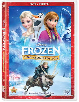 Win a copy of Disney Frozen Sing-Along DVD (US/CAN, 12/7)