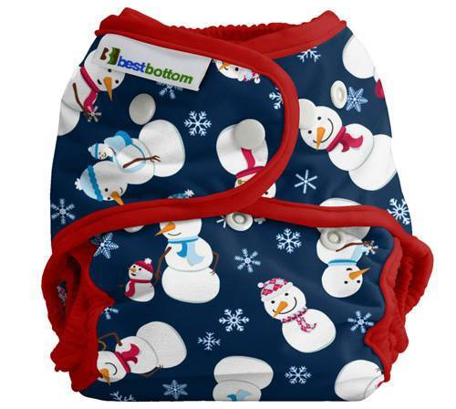 12 Christmas Cloth Diapers - This West Coast Mommy