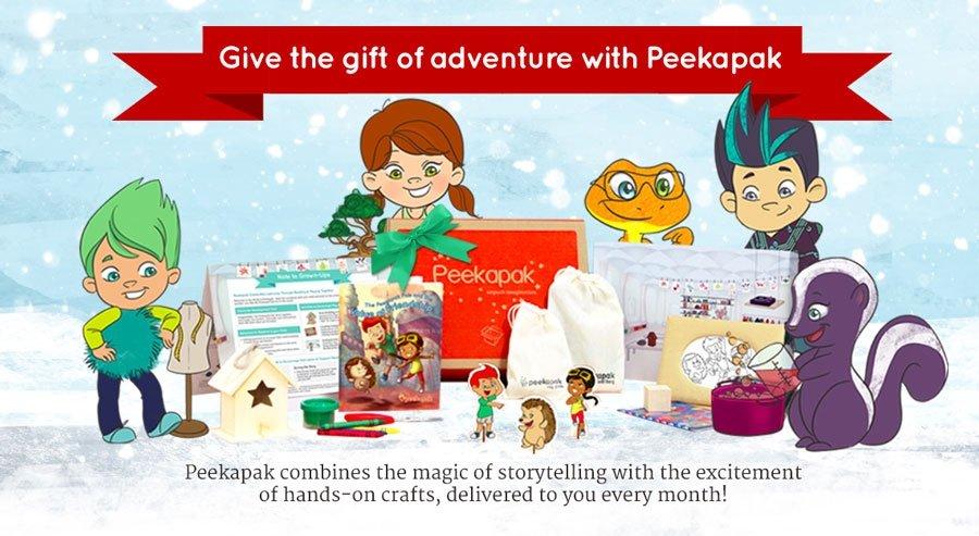Give the gift of peekapak