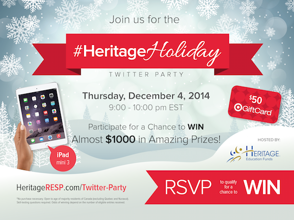 HeritageHoliday Twitter party