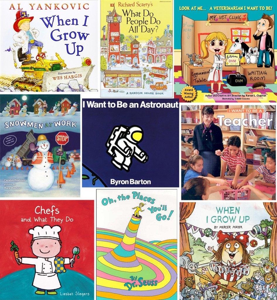 Children's career books