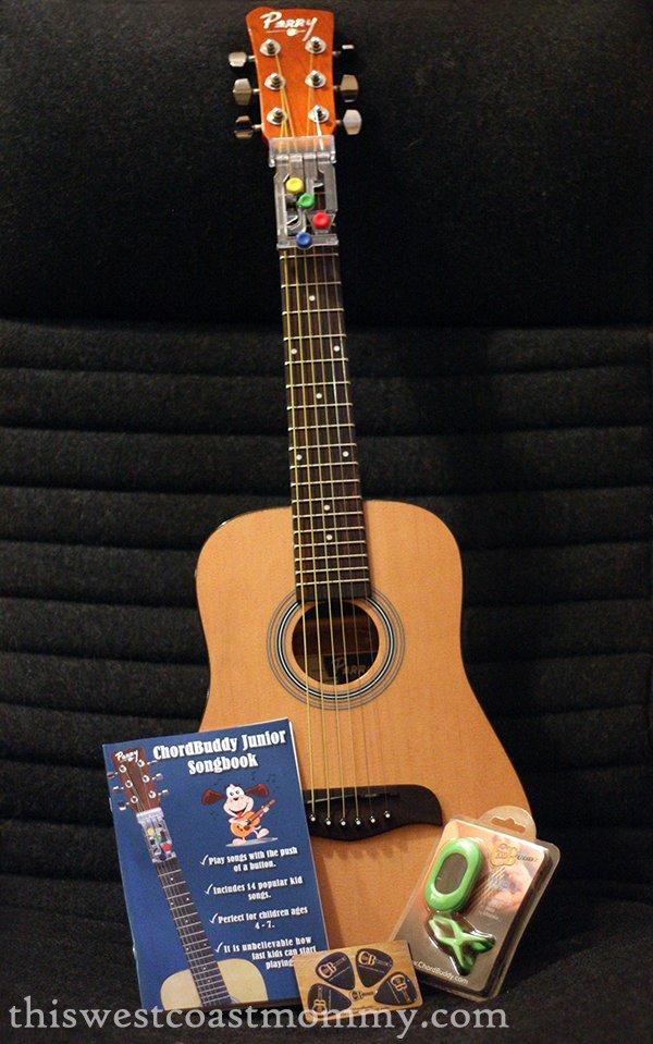 guitar and chordbuddy