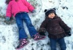 (Almost) Wordless Wednesday: West Coast Snow Angels
