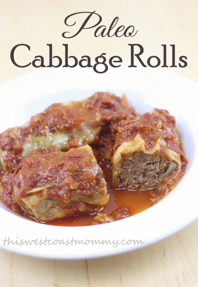 These paleo cabbage rolls take a while to make, but they're so worth it! Gluten-free, grain-free, and Whole30 recipe.
