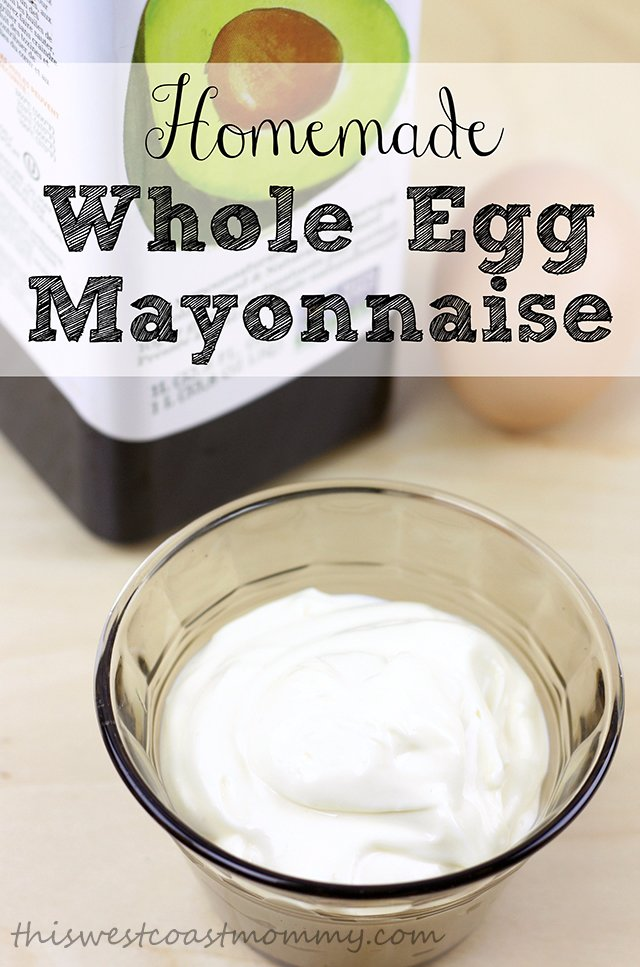 Homemade mayonnaise made with whole eggs and avocado oil. Simple, real food. Paleo and Whole30 friendly.
