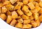 Roasted Sweet Potato Bites