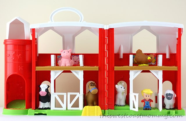 Fisher Price Little People Animal Friends Farm This West Coast Mommy