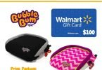 BubbleBum Booster Seat and $100 Walmart Gift Card Giveaway {Closed}