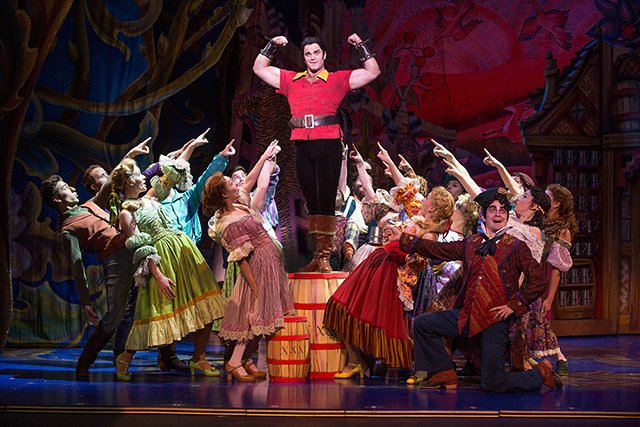 Gaston and the cast