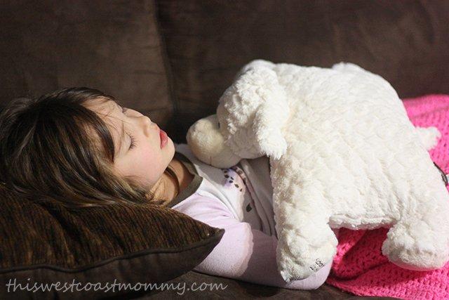 Sleep Sheep helps comfort sick kids naturally