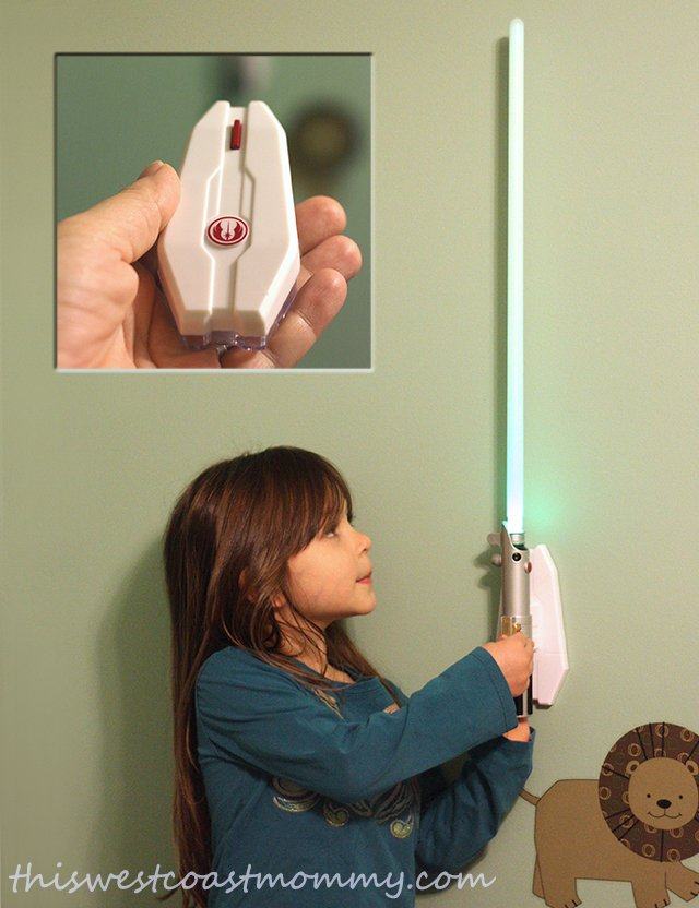 Uncle Milton Star Wars Lightsaber Room Light Review This