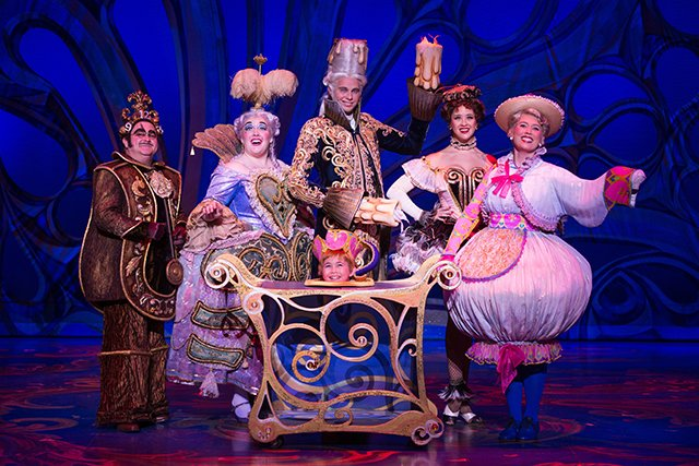 The Enchanted Objects of Beauty and the Beast