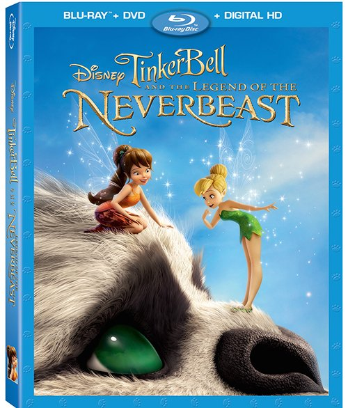 Tinker Bell And The Legend Of The Neverbeast now on Blu-ray