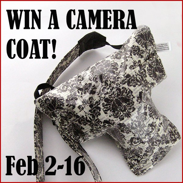 Win a Camera Coat to protect your DSLR camera! (US/CAN, 2/16)