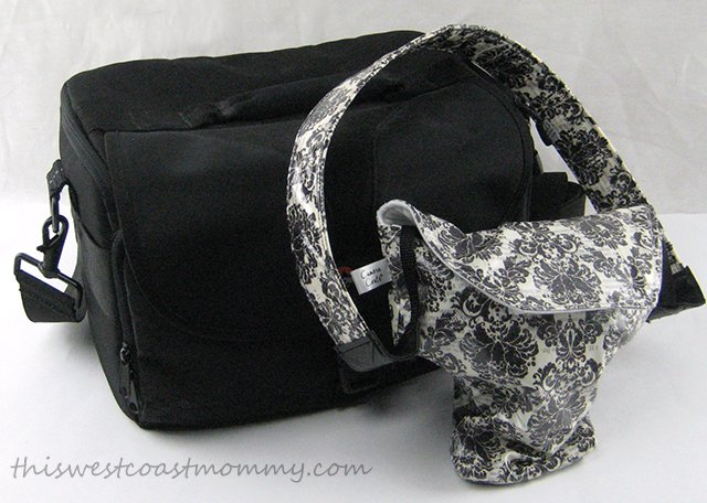 Protect your DSLR camera with a Camera Coat instead of a bulky camera bag