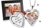 Win a Valentine's Day Personalized Sterling Silver Heart Locket {Giveaway Closed}