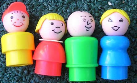 Vintage Fisher-Price Little People