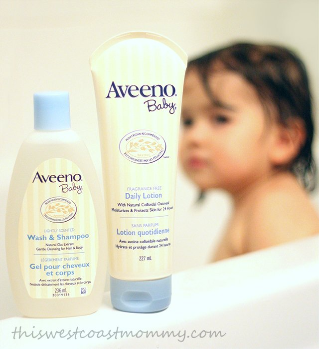 Our AVEENO® Baby Bath Routine #AVEENOBabySkin - This West Coast Mommy