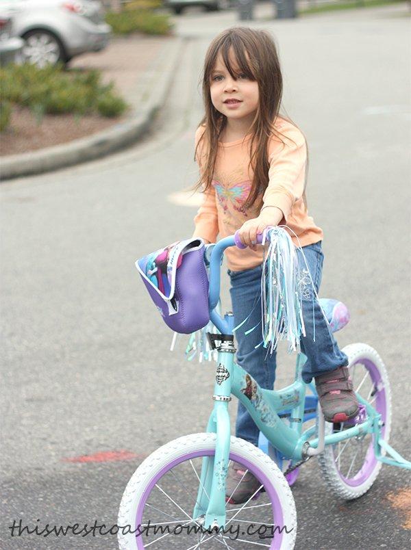 Big girl bike