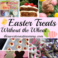 Easter Gluten-Free Treats without the Wheat