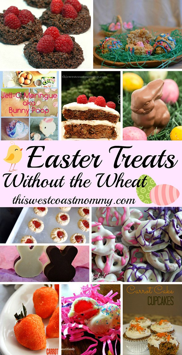 Gluten-Free Easter Treats without the Wheat