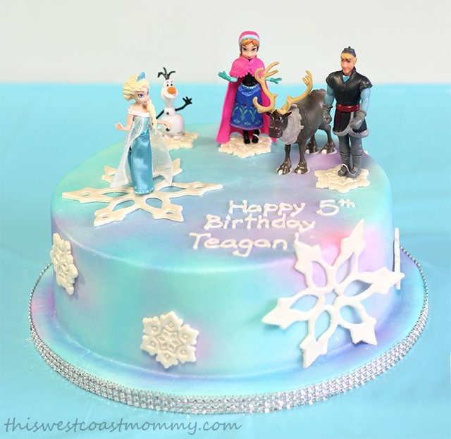 Birthday Cake Decorations Frozen