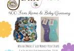 Omaïki O'Sleep Fitted Diaper and Lotus Duo Mama Cloth Giveaway {Closed}