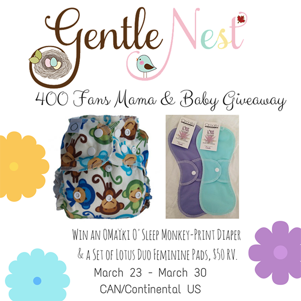 Gentle Nest 400 fan giveaway