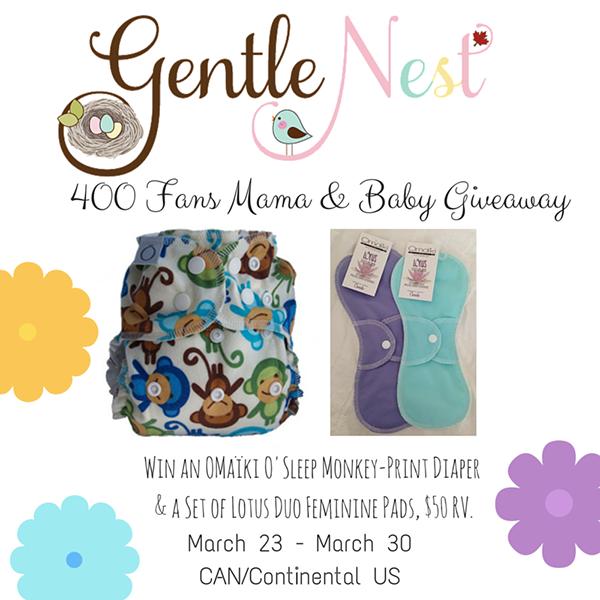 Gentle Nest 400 fan giveaway