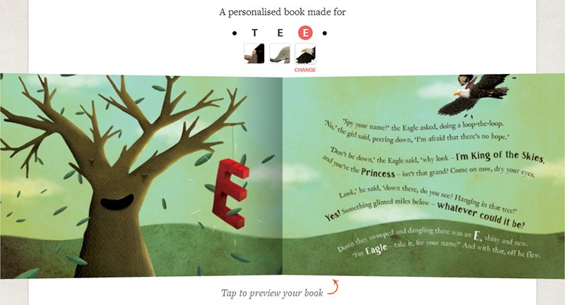 The Little Girl Who Lost Her Name personalized book