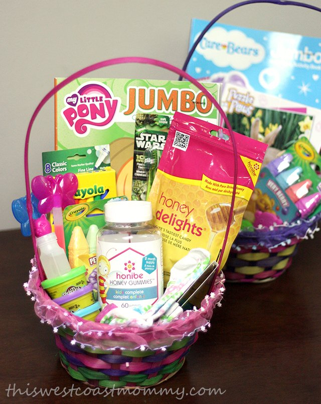 Whats buzzing in my easter basket rsvp for the honibesweet honibe honey in our easter basket negle Choice Image