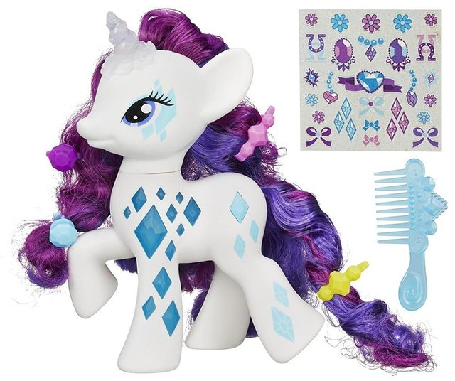 MLP Cutie Mark Magic Glamour Glow Rarity