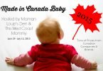 Made in Canada Baby 2015 Giveaway Event #MadeinCanadaBaby {Closed}