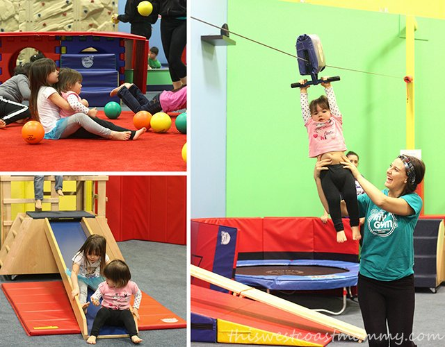 Frozen birthday party at My Gym Langley