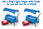 Win a Step2 Igloo Wagon with Cooler for You and a Friend! {Closed}