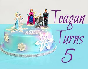 Teagan Turns 5