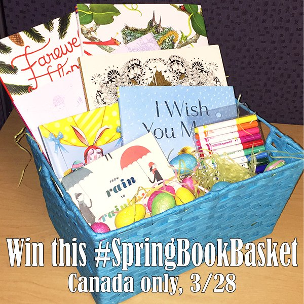 Win a SpringBookBasket of 7 Children's Books (CAN, 3/28)