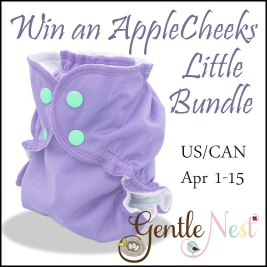 Win an AppleCheeks Little Bundle (US/CAN, 4/15)