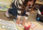 Not So Wordless Wednesday: The Montessori Birthday Walk