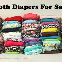 cloth diaper stash for sale