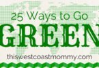 25 Ways to Go Green #EarthDay #Infographic