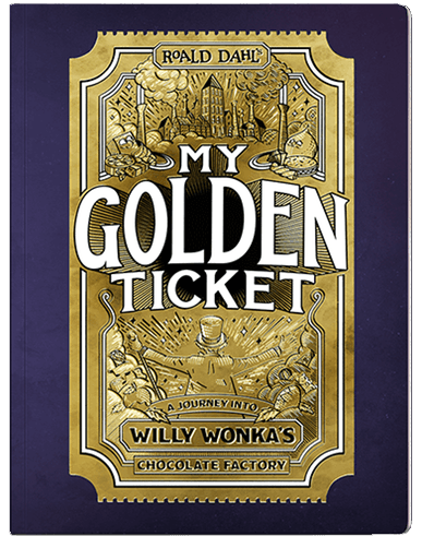 My Golden Ticket Personalized Book (CAN, 11/4)