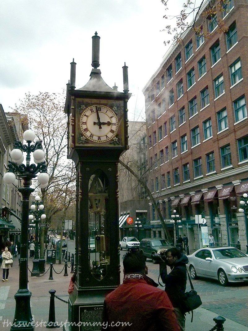 Gastown's Steam Clock is a Vancouver landmark