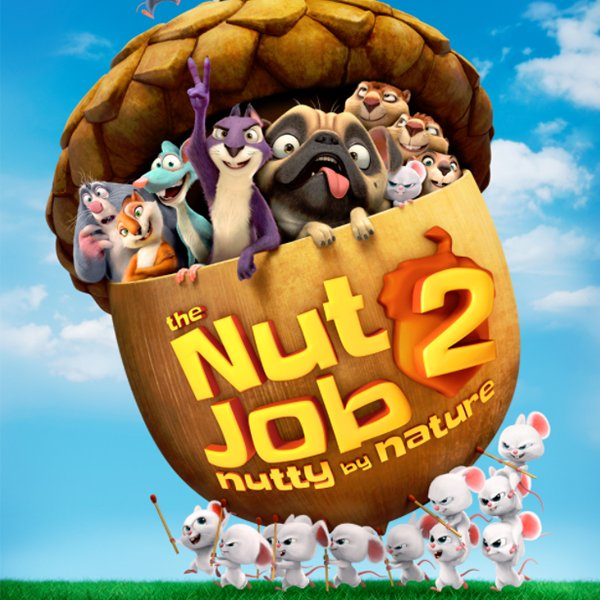 4 Advance Screening Passes to the Nut Job 2 (Vancouver or Toronto, 7/26)