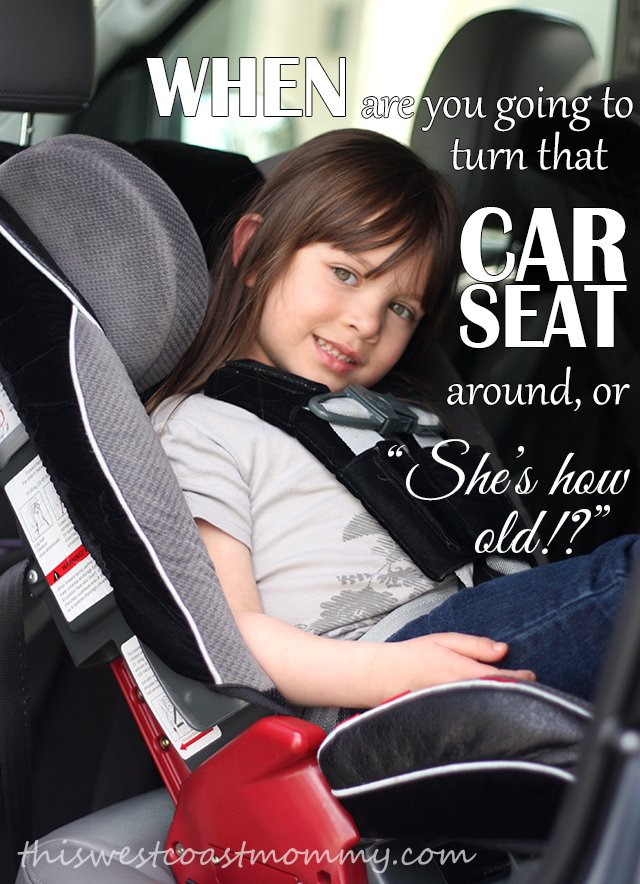 Why you should keep your child in a rear facing car seat as long as possible.