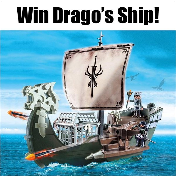 Playmobil Drago's Ship (CAN, 12/22)