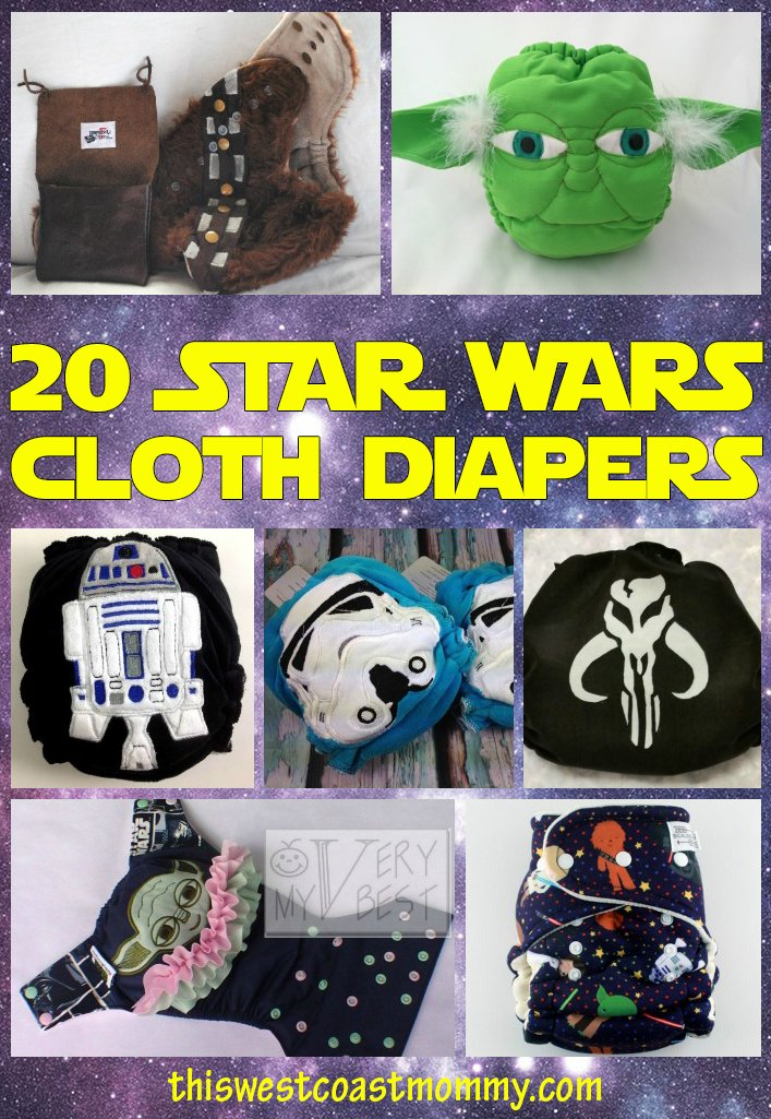20 Star Wars cloth diapers