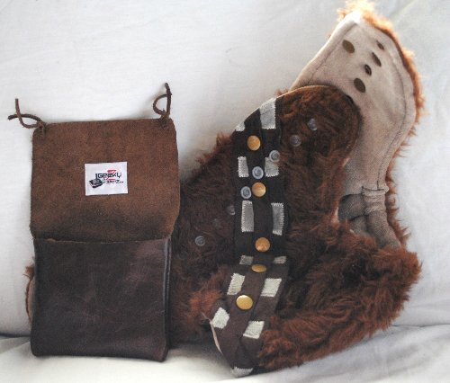 Chewbacca hybrid fitted - Geeky Z Diaperz