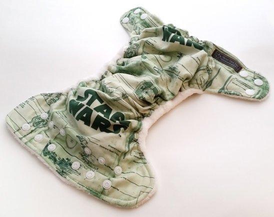 Custom Star Wars pocket diaper - Happy Tara Tails